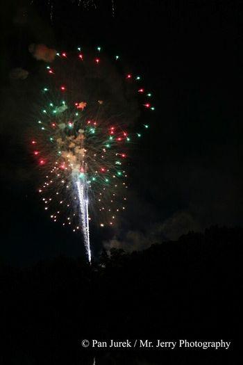 Berea Ohio Westside Fireworks 2014 Coe Lake Cuyahoga County Independence Day