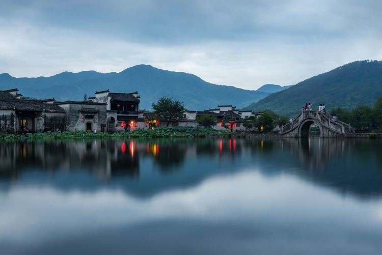 Scenic View Of Lake In China