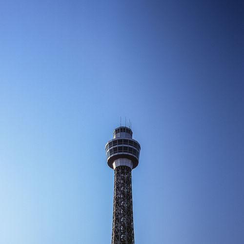 Blue Film Fujifilm Radio Reversalfilm Signal Tower Yokohama First Eyeem Photo