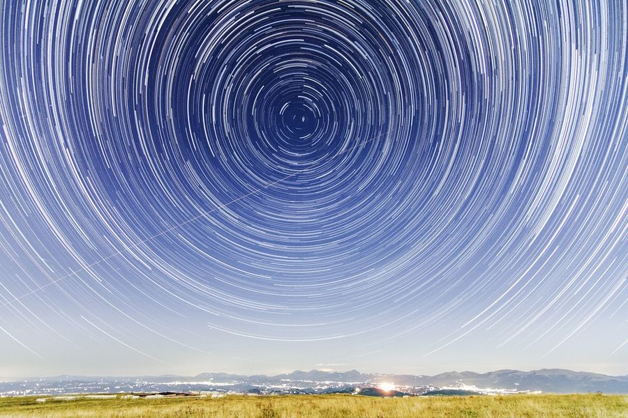 Night star trail Star Trailing Star Night Night Photography Outdoors Sky Night Sky Night Sky Photography Multiple Exposures