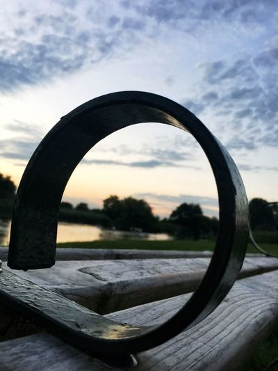 Water_collection Sunset Week On Eyeem Running Route Running Time River Seat Metal Work Metal View Night View Wooden Bench Wooden Bench Ironwork  Hidden Gems  What's On The Roll 87% Your Best Photos Dramatic Angles