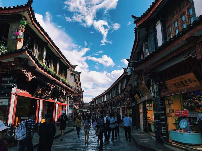 Old Town Travel China Building Exterior Architecture Built Structure Sky City Cloud - Sky Nature Old
