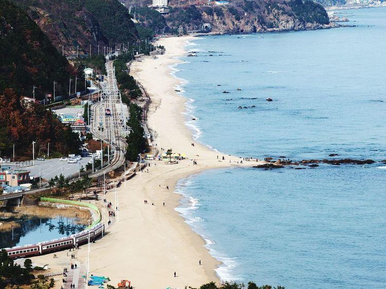 Beach Sea Sand Coastline Outdoors Olympus Olympus Photography No People 정동진 E-5