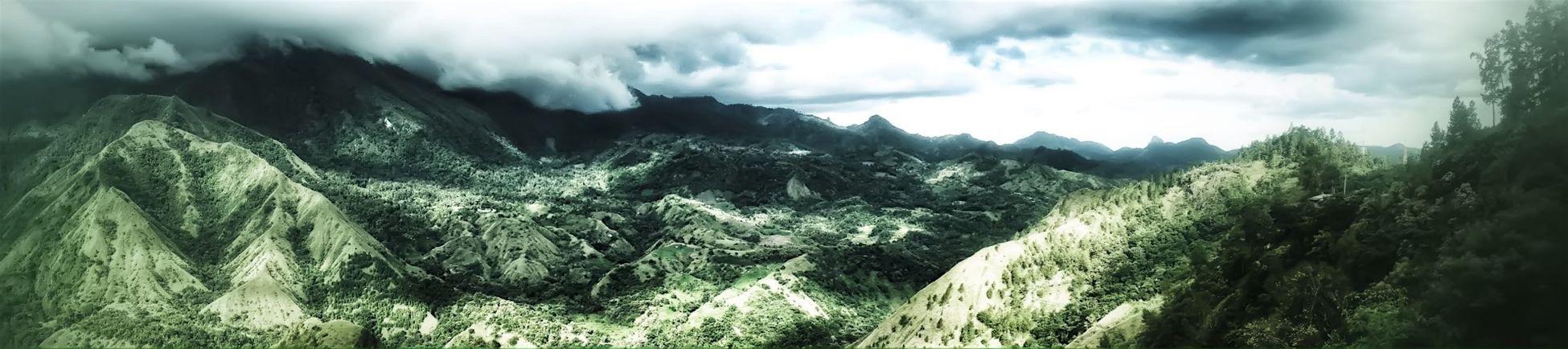 Buttu Kabobong Outdoor Landscape Mountain Panorama Panoramic