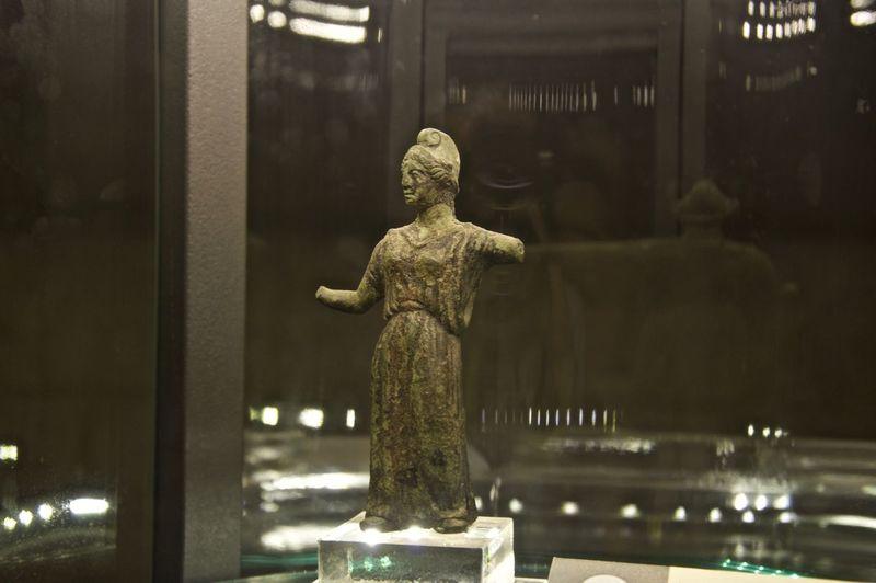 Archeology Minerva Ostuni Ostuni Museum Archeologymuseum Human Representation Minerva Bronze No People Sculpture