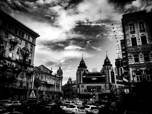 Black &White street Architecture Building Exterior City Built Structure Street City Life Outdoors Day The Street Photographer - 2017 EyeEm Awards Architecture