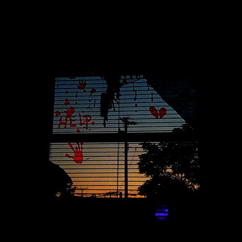 Window No People Sky Colorphotography Off The Beaten Path Nofilter Vibrant Color California Illuminated Indoors  Unique Perspective Digital Darkroom Multi Colored Cultures Interesting Pictures Eye For Photography Windowsill Help Blood Halloween Holiday Break The Mold. Sunset Sunrise_and_sunsets Horizontal Lines Break The Mold Live For The Story Mix Yourself A Good Time