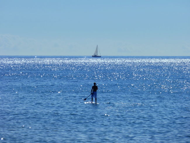 Beach Photography Beauty In Nature Blue Day Idyllic Nature Outdoors Paddlesurf Rippled Scenics Tranquil Scene Tranquility Water