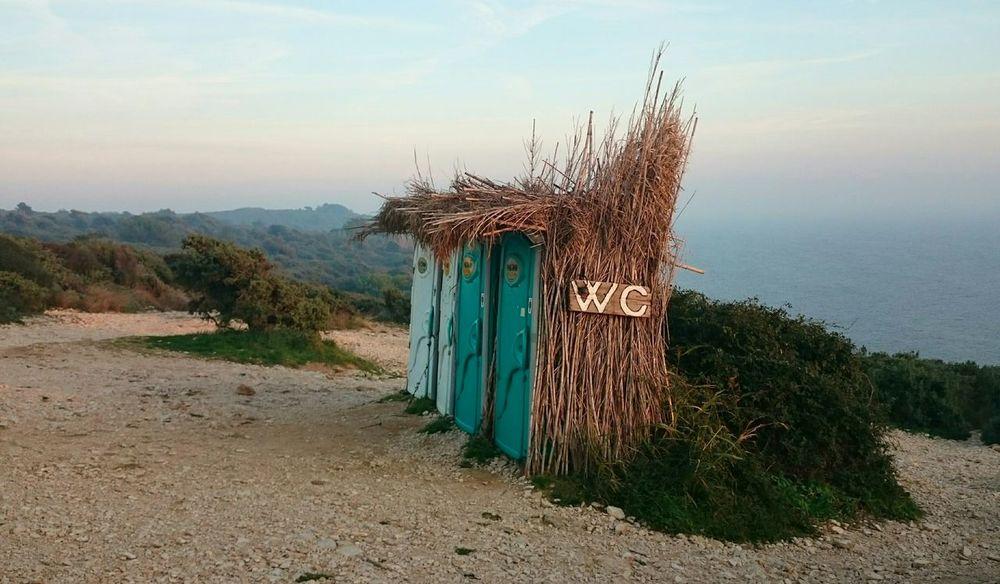 Portable Toilets Camouflage Outdoors Toilette Art Toilette Outside Toilet Toilet On The Beach