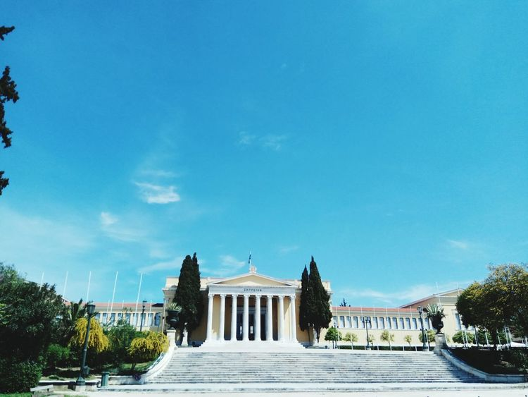 Politics And Government Government Travel Destinations Travel Architecture Sky City History Tree No People Outdoors Day Beauty In Nature Architecture Cloud - Sky Athens Greece Photos Photos Now