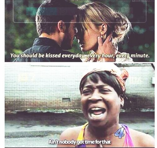 "Lol. Watching ""The Lucky One"". <3"