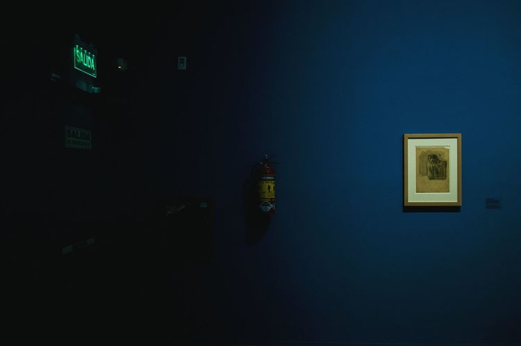 Lighting Equipment No People Illuminated Indoors  Museum Museum Of Modern Art Art Gallery Art