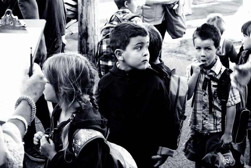 Kids Blackandwhite Black And White Portrait Children Photography