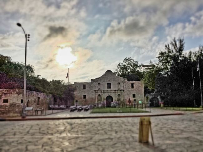 Tiltshift Tilt Shift Alamo Sunrise