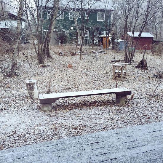 八ヶ岳 原村 庭 雪 冬 別荘 長野県 日本
