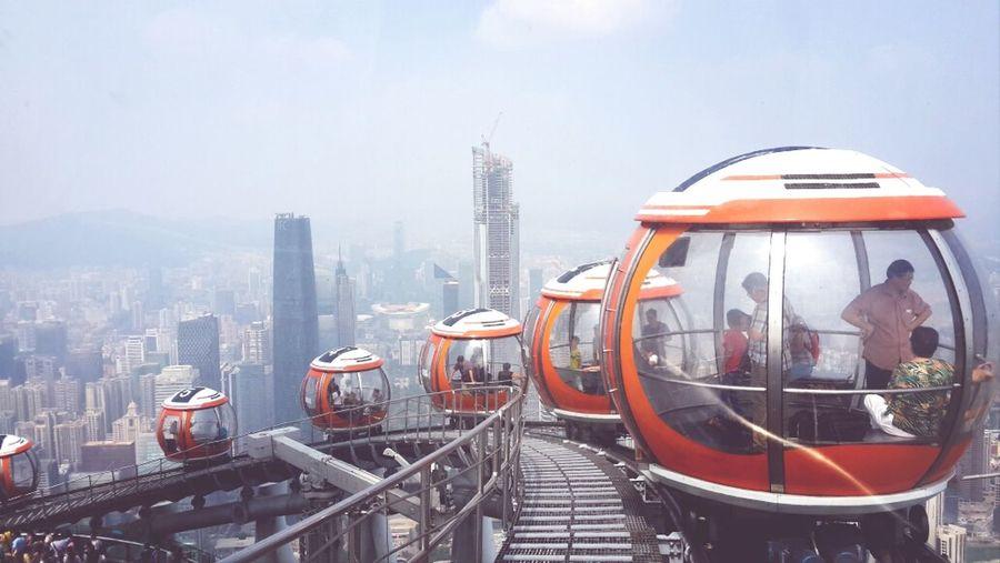 The world's tallest Ferris Wheel!☆ Traveling Holiday Amazing Guangzhou,China