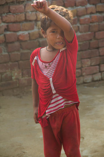 Childhood Crying Distress Front View Innocence Lifestyles Poorpeople Real People Youth Of Today