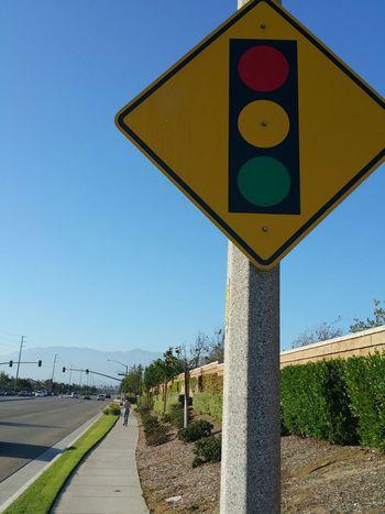 Walking Summer Summertime Southern California California Traffic Signs In Love ❤ EyeEm Best Shots Eye4photography  EyeEmBestPics