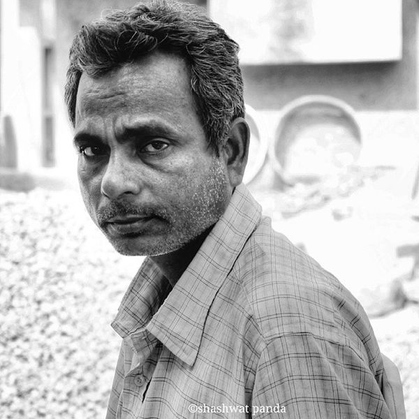 Portrait Street Bhubaneswar Odisha Blackandwhitephotography Bnw_captures Canon1100d (Also, my 300th post 😊 on instagram)