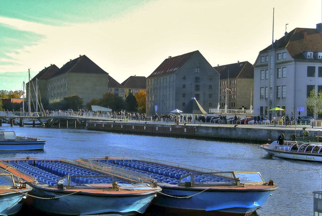 Copenhagen old harbor Anchorage Architecture Boat Boats⛵️ Building Exterior Built Structure Day Fountain Harbor Harbor View No People Outdoors Port Ship Ships⚓️⛵️🚢 Sky Swimming Pool Travel Destinations Tree Vessel Vessel Anchorage Vessel In Port Vessels Vessels In Port Water