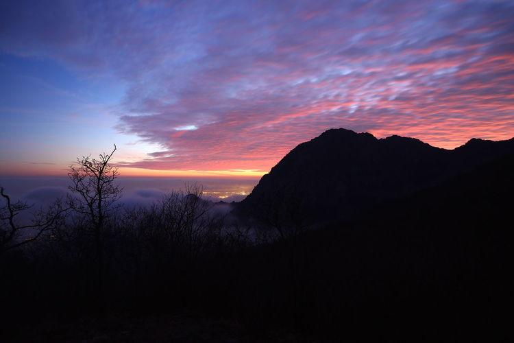 Altaviadeimontiliguri Campeggio Montagna Mountains Nature Salute Sky Sunshine Trekking