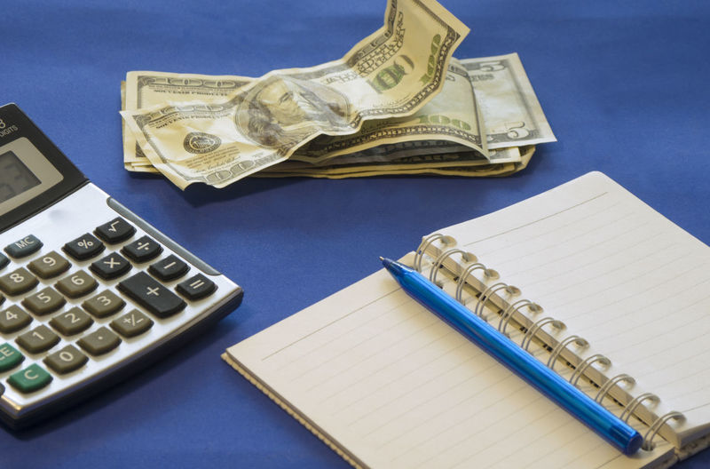 notebook, pen and calculator are on the table Finance Secretary Accounting Calculator Finance Financial Planning Income Interest Keyboard Money Office Organized Planner Savings Banknotes Business Desktop Interesting Notebooks  Calculator Dollars Management Office Supplies Pen Table