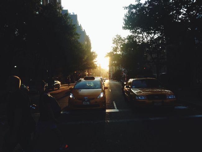 NYC CAB Nyc Streetlife