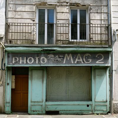 2018 Lost Lost Place Photo Mag 2 Turquoise Colored Abdoned Architecture Building Exterior Built Structure Closed Closed Shop Communication Day Door Entrance Lost Places Lostplace Lostplaces No People Window