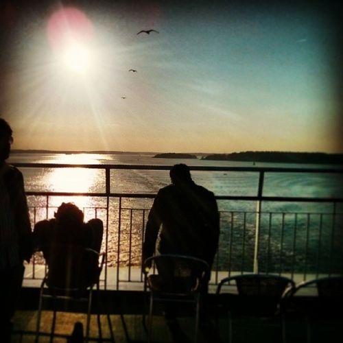 Sunset Balticcruise