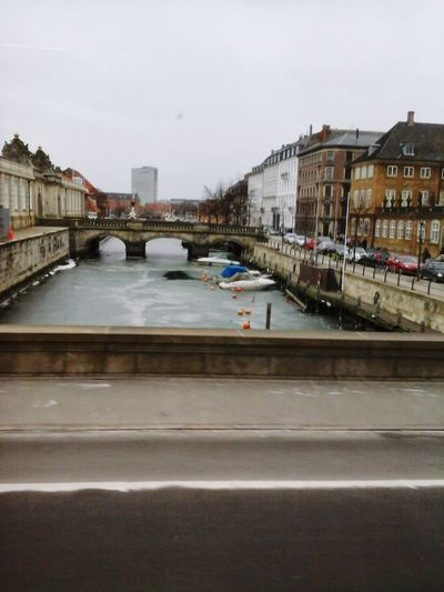 Bridge - Man Made Structure Built Structure Architecture Building Exterior Day Cityscape EyeEm Selects EyeEm Best Shots Perspectives On Nature EyEmNewHere Copenhagen, Denmark Architecture Beauty In Nature River Getting Frozen Snow ❄ EyeEmNewHere Be. Ready.