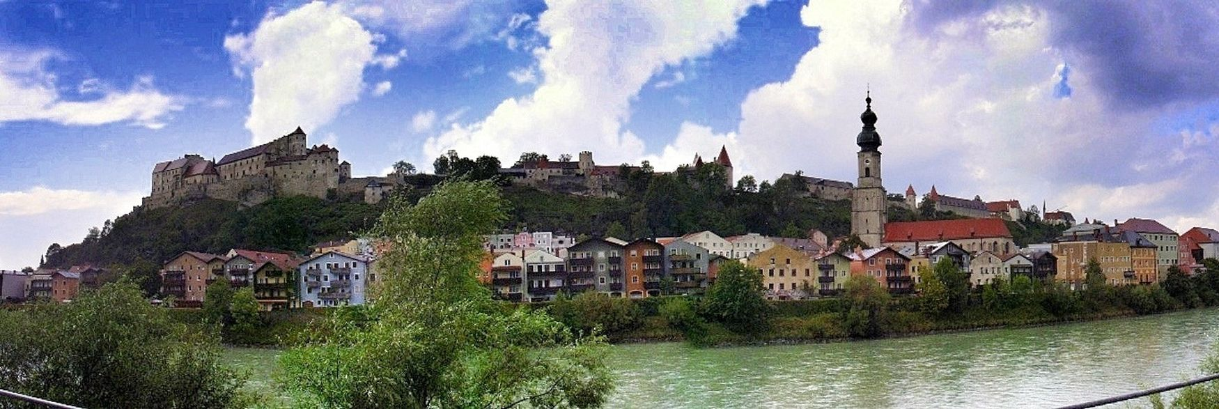 Taking Photos to the city of Burghausen Altötting in Germany