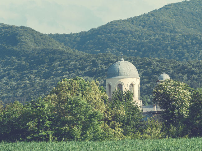 Veliki Preslav church in the forest. Church Church Tower Architecture Beauty In Nature Building Exterior Built Structure Church Architecture Day Dome Forest Growth Mountain Nature No People Outdoors Place Of Worship Religion Sky Spirituality Tree