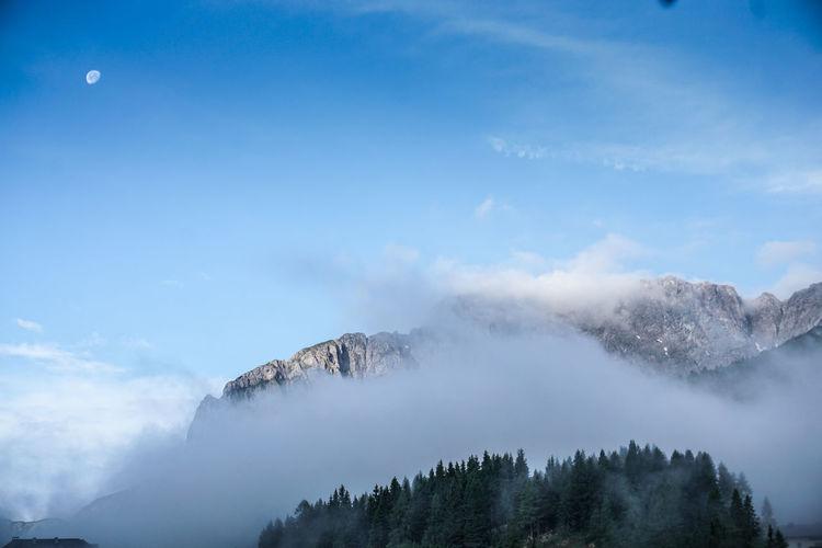 Moon Alps Alpen