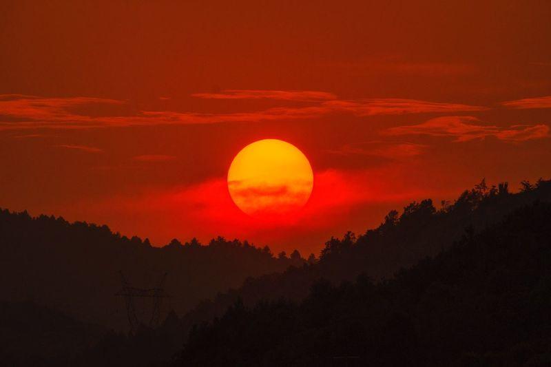 血色残阳 Sky Sunset
