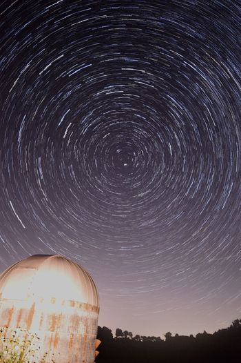 Startrails Nightphotography Astrophotography Night Sky Indiana Polaris