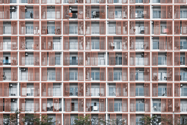 Apartment Repetition Residential District Modern In A Row Architecture Pattern City Windows Property Real Estate Housing Building Renting Air Bnb