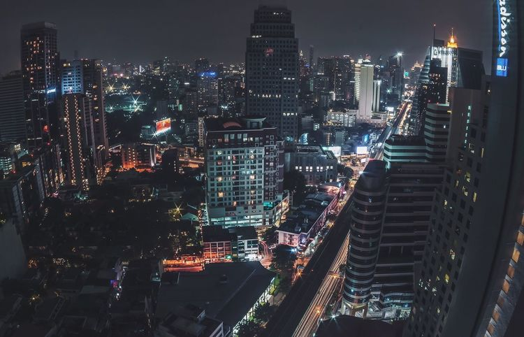 Bangkok Bangkok Thailand. Thailand Nightphotography Illuminated ASIA Architecture City City Life Skyscraper Cityscapes Financial District