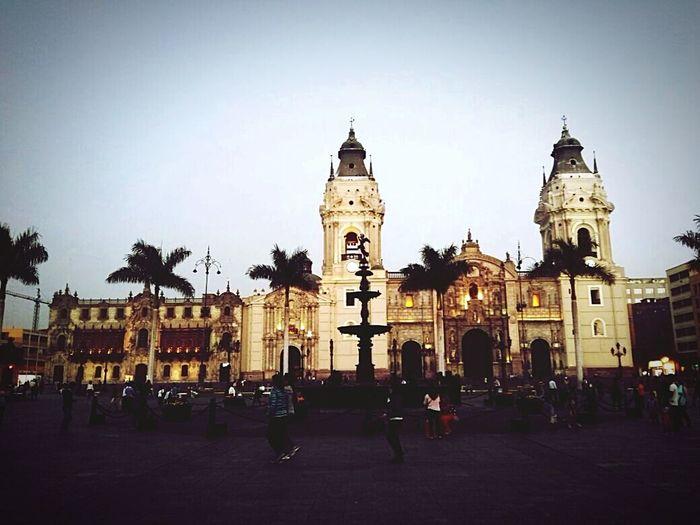 Catedraldelima Plaza De Armas Hi!