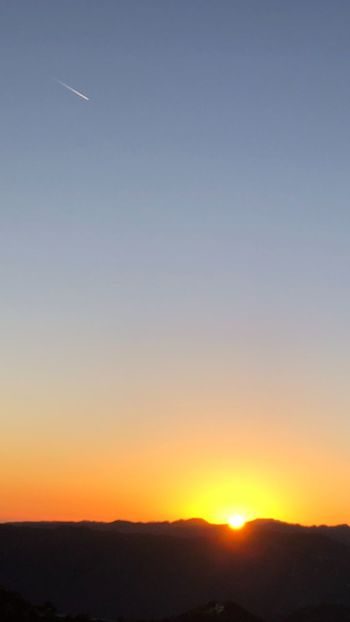 Sky Sunset Beauty In Nature Scenics - Nature Tranquil Scene Tranquility Copy Space Sunlight Sun Landscape Outdoors