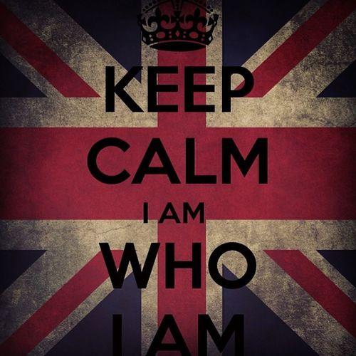 Keepcalm Lookbrightside Britishculture IamWhoIam me selfie