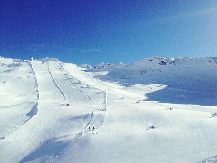 Austria Mountains , MölltalerGletscher , Alpine Skiing