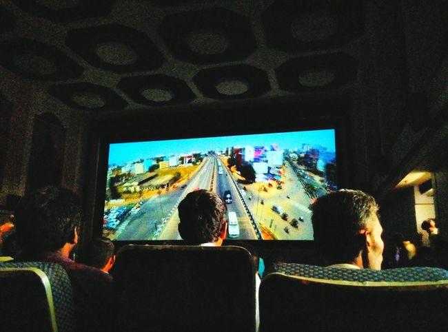 Snapshots Of Life cinema hall...