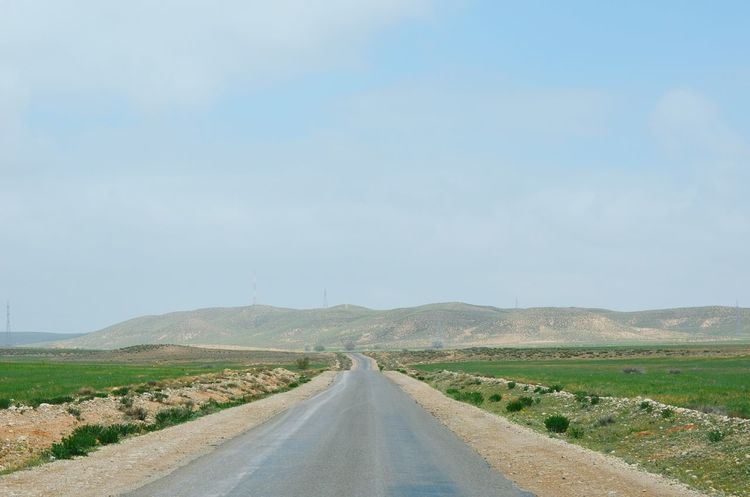 Great Morocco Middle Of Nowhere Road Destination Unknown