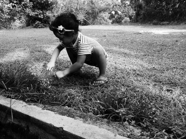 Taking Photos Monochrome Littlegirl Playing Outside Spontaneous Children Photography Children's Portraits Explore Open Edit