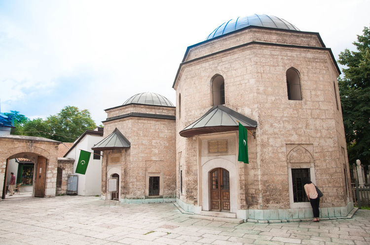 Architecture Bosnia Bosnia And Herzegovina Building Exterior Built Structure Day Dome Outdoors Peek Pilgrimage Place Of Worship Religion Sky Spirituality Travel