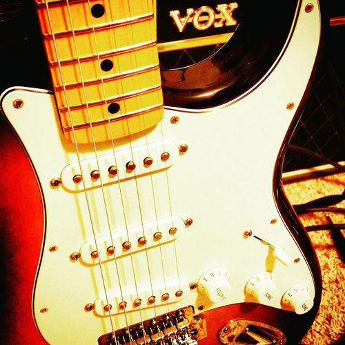Fender Stratocaster Voxamp