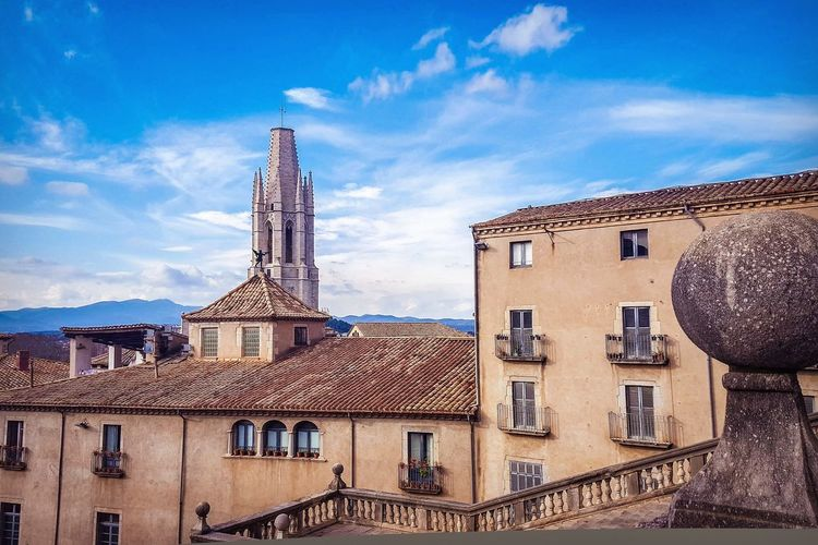 Girona Girona Girona Cathedral Game Of Thrones Tourism Tower Travel Photography Travelling EyeEm Selects Cityscape City Clock Sky Architecture Building Exterior Built Structure Adventures In The City