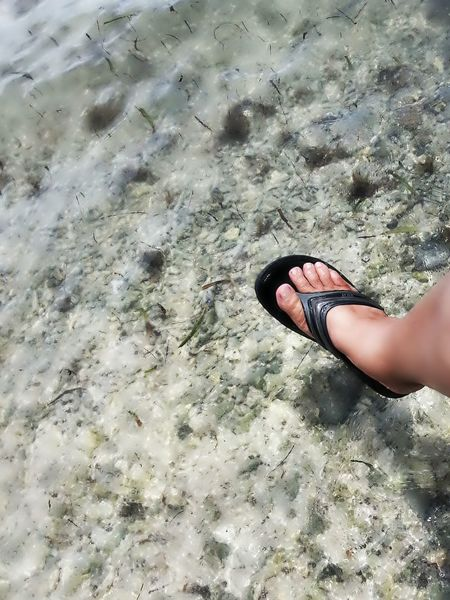 ...one foot in...well almost!... Taking Photos Islandlife Life Is A Beach at Isla Culebra , Puerto Rico