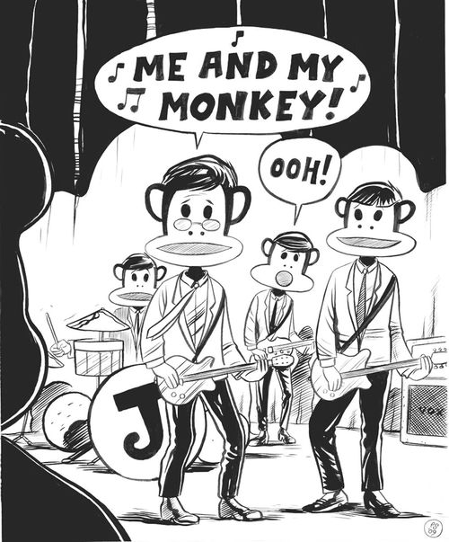 Paul Frank Check This Out PF My Monkey