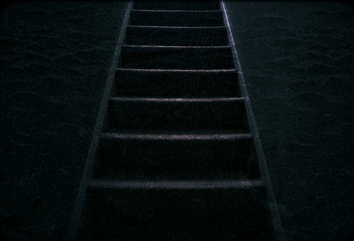 up up up down down down .just simple stairs leading to the unknown ..... Creative Interesting Getting Inspired Blackandwhite Light And Shadow Turn Your Lights Down Low Creative Light And Shadow Check This Out Cool Edit Oldpic Darkness And Light Abstract Art Memmories Goodday